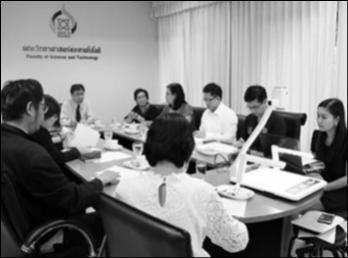 ประชุมรองคณบดี / หัวหน้าภาควิชา / ผู้อำนวยการศูนย์วิทยาศาสตร์ ครั้งที่ 9/2560