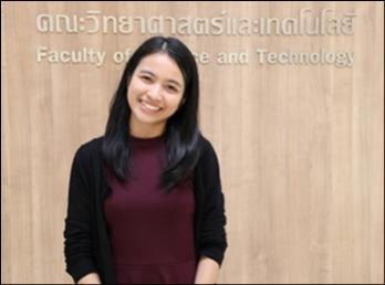 ขอแสดงความยินดีกับ นางสาวสุมามาลย์ เจริญไชย ศิษย์เก่าสาขาวิชาเคมี ที่ได้รับทุนศึกษาต่อปริญญาโท ที่มหาวิทยาลัย JAIST ประเทศญี่ปุ่น