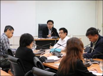 ประชุมผู้บริหารคณะวิทยาศาสตร์และเทคโนโลยี ครั้งที่ 9/2560
