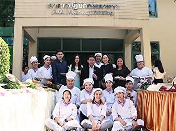 นิทรรศการจัดแสดงผลงานของนักศึกษาสาขาวิชาอุตสาหกรรมอาหารและการบริการ ชั้นปีที่ 4