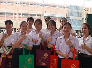 คณะวิทยาศาสตร์ฯ เดินสายแนะแนวโรงเรียนเบญจมราชาลัย ในพระบรมราชูปถัมภ์