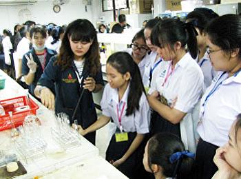 """สาขาวิชาวิทยาศาสตร์สิ่งแวดล้อมจัดบริการวิชาการ """"พี่สอนน้องพัฒนาเยาวชนนักวิทยาศาสตร์"""""""