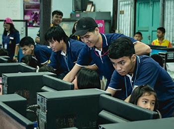 """สาขาวิชาเทคโนโลยีสารสนเทศ เดินหน้า โครงการบริการวิชาการ """"การใช้งานอินเทอร์เน็ตและการใช้ระบบสังคมออนไลน์สำหรับนักเรียนและบุคคลทั่วไป"""""""