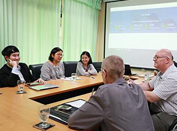 ประชุมคณะกรรมการดำเนินการปรับปรุงเว็บไซต์คณะวิทยาศาสตร์ฯ