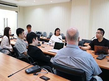 ประชุมการดำเนินงานปรับปรุงเว็บไซต์คณะวิทยาศาสตร์และเทคโนโลยี