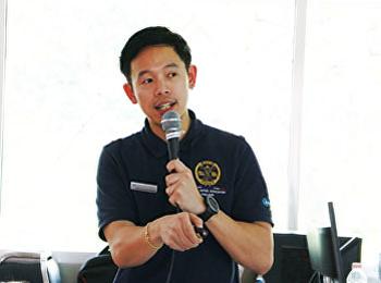 สาขาวิชาวิทยาศาสตร์การกีฬาและสุขภาพ จัดอบรม Kinesio Taping ขั้นเบื้องต้น