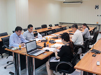 ประชุมคณะกรรมการจัดทำ (ร่าง) ประกาศการจัดตั้งและบริหารงานกองทุนเพื่อพัฒนา