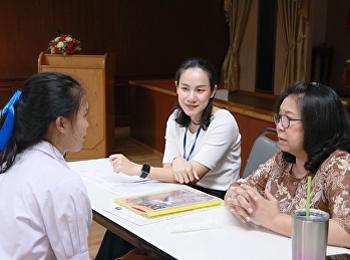 บรรยากาศการสอบสัมภาษณ์นักศึกษา รอบ 2 ระบบโควตา