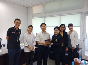 นักศึกษาสาขาวิชาคหกรรมศาสตร์ เดินทางไปฝึกประสบการณ์วิชาชีพ ณ ประเทศไต้หวัน