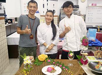 นักศึกษาคหกรรมศาสตร์ ฝึกประสบการณ์วิชาชีพ ประเทศไต้หวัน ร่วมแข่งขันการทำบะหมี่ คว้ารางวัลในลำดับที่ 4