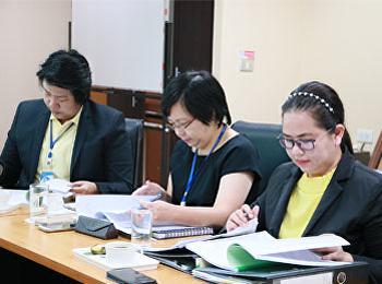 สาขาวิชาเทคโนโลยีชีวภาพ เข้ารับการตรวจประเมินคุณภาพ การศึกษาภายใน  ประจำปีการศึกษา 2560