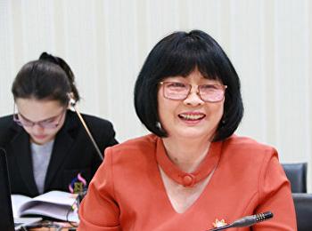 สาขาวิชาฟิสิกส์ประยุกต์เข้ารับการตรวจประเมินคุณภาพการศึกษาภายใน ประจำปีการศึกษา 2560