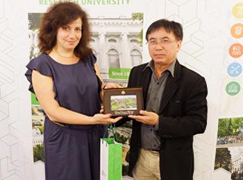 ผู้บริหารคณะวิทยาศาสตร์ฯ ประสานความร่วมมือทางวิชาการ ผลักดันนักศึกษาอบรมภาคฤดูร้อน ณ Peter the Great St. Peters burg University สหพันธรัฐรัสเซีย