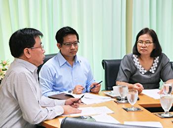 ประชุมผู้บริหารคณะวิทยาศาสตร์และเทคโนโลยี