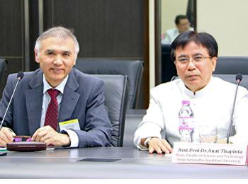 คณบดีคณะวิทยาศาสตร์ฯ ร่วมประชุมสนทนา เพื่อแลกเปลี่ยนความร่วมมือทางวิชาการ (Presidential Round Table Meeting)