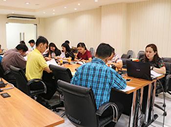 ประชุมคณะกรรมการพัฒนา ปรับปรุงกระบวนการปฏิบัติงาน ประจำปีงบประมาณ 2562