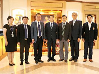 คณะวิทยาศาสตร์และเทคโนโลยี ต้อนรับผู้บริหารจาก  Chai Nan University of Pharmacy and Science (CNU) ประเทศไต้หวัน