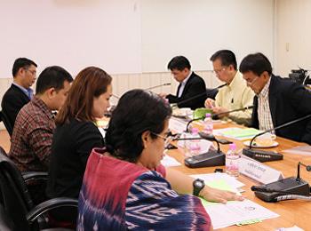 ประชุมคณะกรรมการบริหารงานกองทุน เพื่อพัฒนาคณะวิทยาศาสตร์และเทคโนโลยี