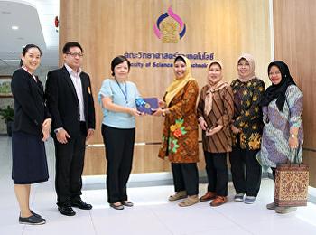 คณะวิทยาศาสตร์และเทคโนโลยี หารือร่วมกับ Department of Family Welfare Vocational Education ประเทศอินโดนีเซีย