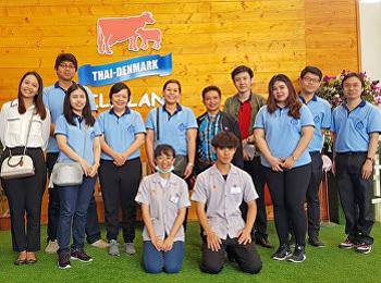 ฝ่ายบริการการศึกษา คณะวิทยาศาสตร์ฯ ลงพื้นที่โครงการจัดการความรู้ทางวิชาการ(KM)  การปฏิบัติงานสหกิจศึกษา ณ องค์การส่งเสริมกิจการโคนมแห่งประเทศไทย