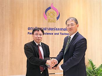 คณะผู้แทนจากสถาบัน Chines Academy of Fishery Science (CAFS) เข้าเยี่ยมสนทนาความร่วมมือทางวิชาการ กับ คณะวิทยาศาสตร์และเทคโนโลยี