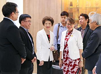 คณะวิทยาศาสตร์ฯ ต้อนรับคณะจากสมาคมวัฒนธรรมและเศรษฐกิจไทย – จีน