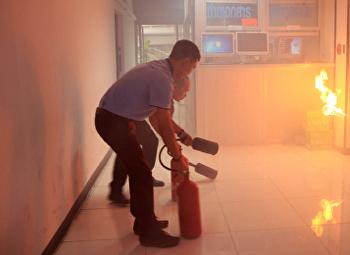 คณะวิทยาศาสตร์และเทคโนโลยี ซ้อมดับเพลิง เตรียมความพร้อมต่อสถานการณ์ฉุกเฉิน