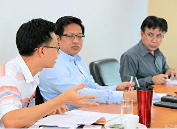 ประชุมคณะกรรมการวารสารวิทยาศาสตร์และเทคโนโลยี