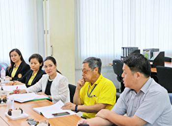สาขาวิชาสถิติประยุกต์ เข้ารับการตรวจประเมินคุณภาพ การศึกษาภายในประจำปีการศึกษา 2561