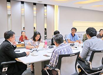 ประชุมเตรียมความพร้อมเคลื่อนย้ายครุภัณฑ์เข้าสู่อาคารวิทยาศาสตร์ (อาคาร 23)