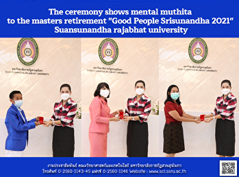 The ceremony shows mental muthita to the masters retirement